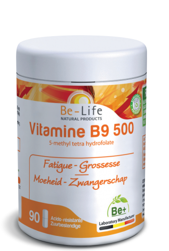 Be-Life Vitamine B9 500